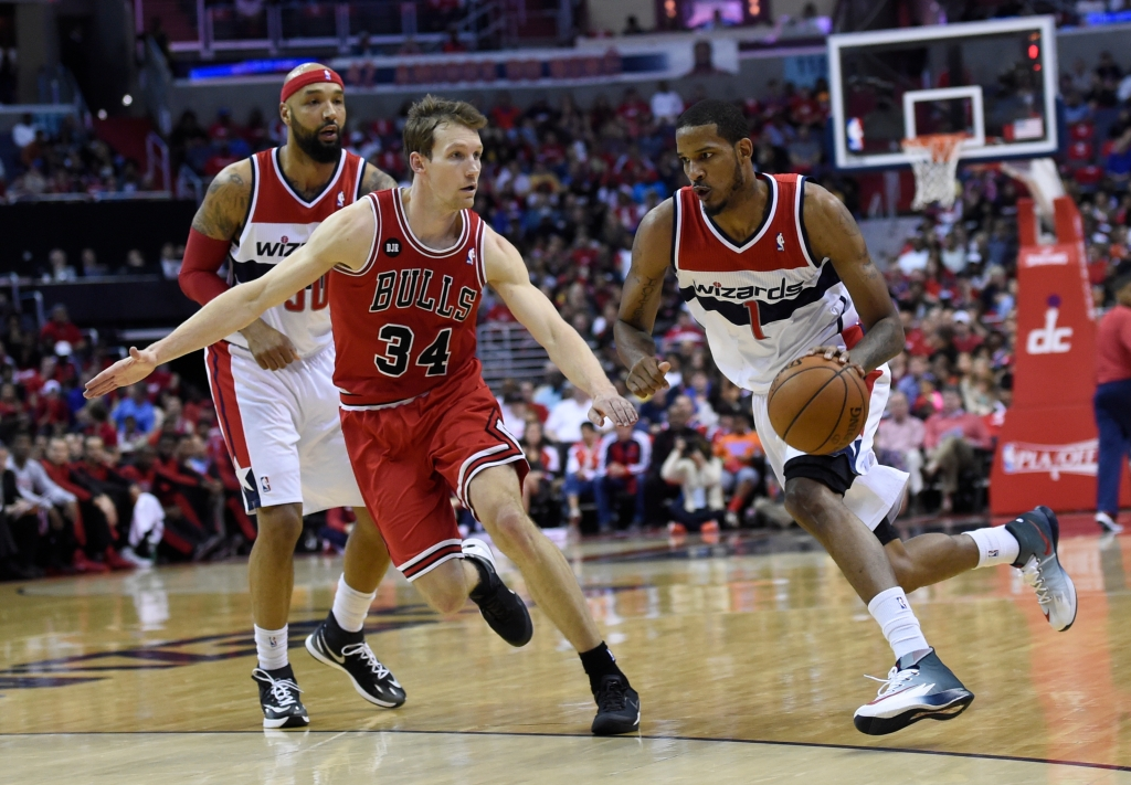 NBA Washington Wizards vs Chicago Bulls Play-Offs Game 4