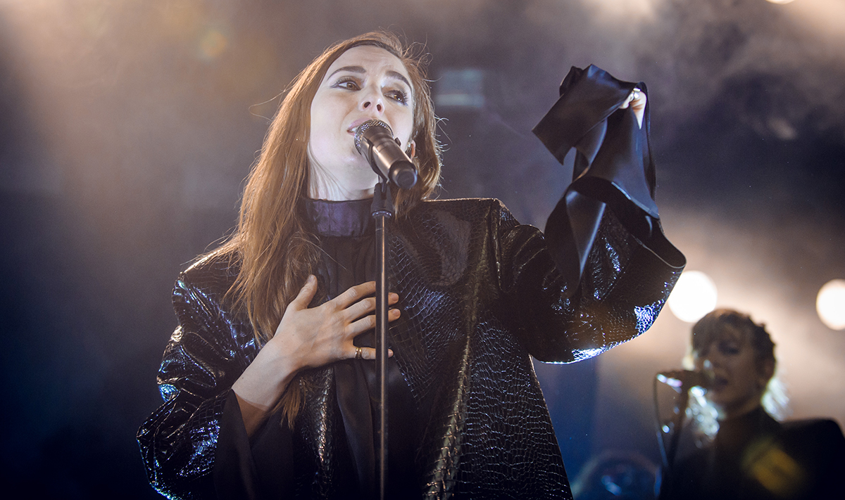 Lykke Li Performs In Berlin