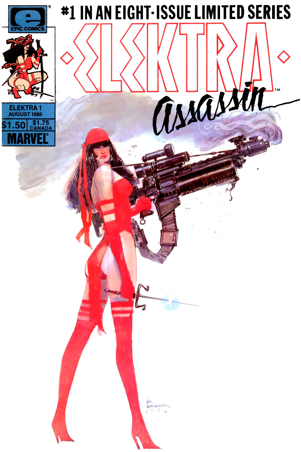 Elektra - Assassin #1 - 00_Cover