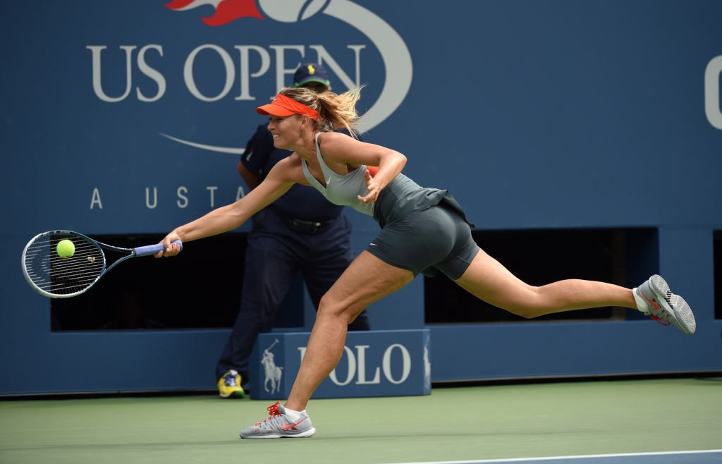 TEN-US OPEN-  WOZNIACKI-SHARAPOVA