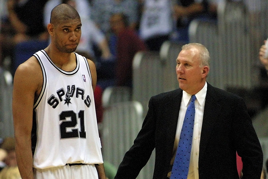 Tim Duncan might have to singlehandedly carry the Spurs into the playoffs.