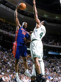 Celtics and Pistons