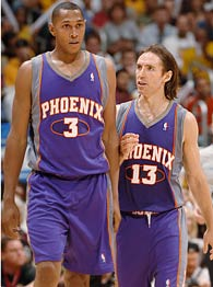 Boris Diaw and Steve Nash