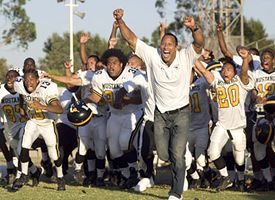 "The Rock in ""Gridiron Gang"""