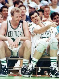 Larry Bird and Kevin McHale