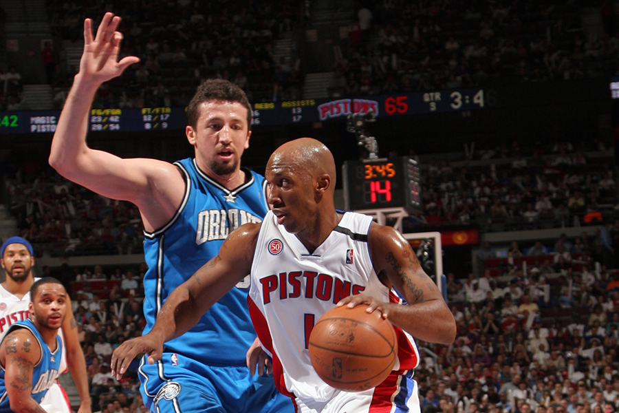 Orlando Magic v Detroit Pistons, Game 2