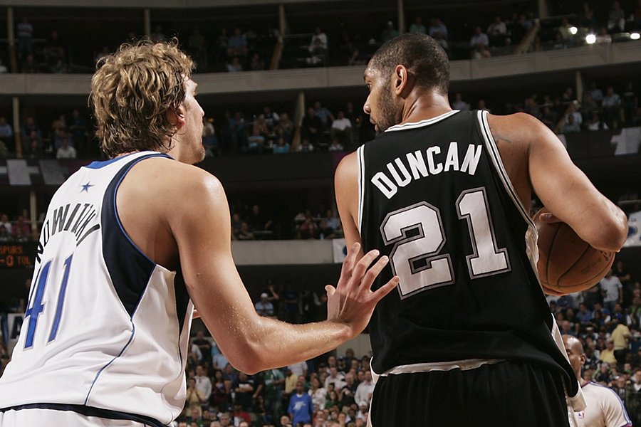 San Antonio Spurs v Dallas Mavericks, Game 3
