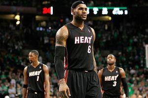 LeBron James, Chris Bosh and Dwyane Wade