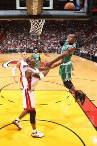 Rajon Rondo and Chris Bosh