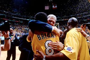 Phil Jackson and Kobe Bryant