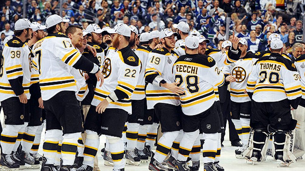 Bruins Celebration