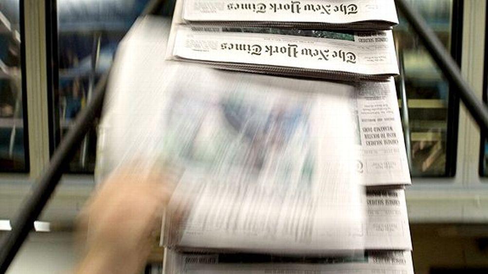 New York Times printing