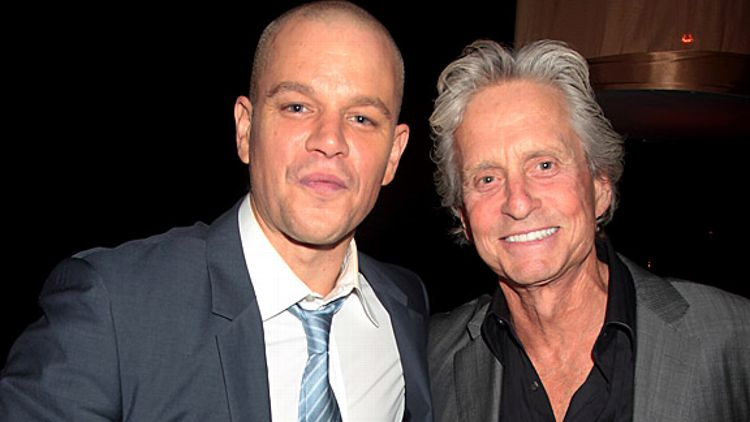 Michael Douglas Matt Damon