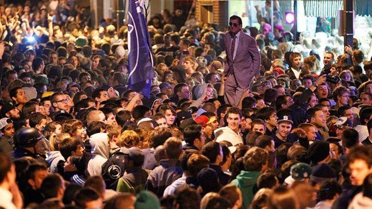 Penn St. Rally