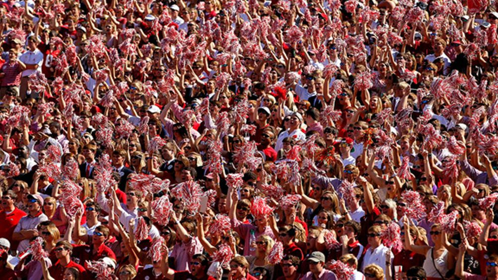 Alabama Crimson Tide fans