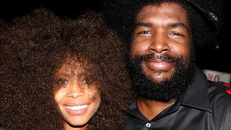 Erykah Badu and ?uestlove Thompson