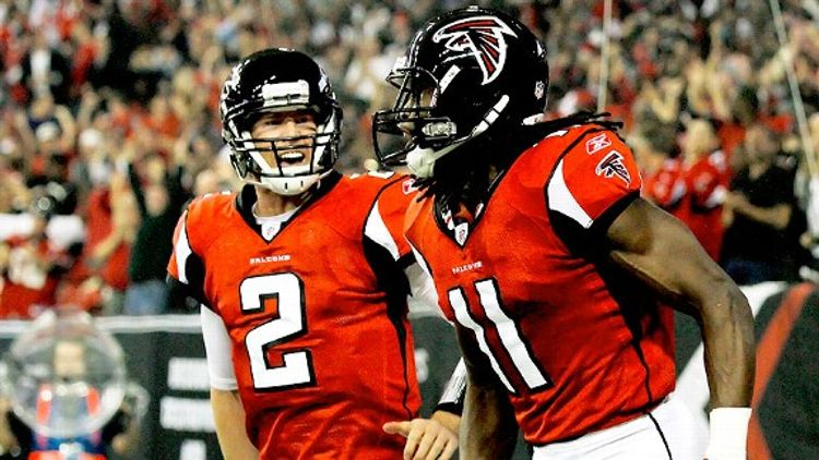 Julio Jones and Matt Ryan