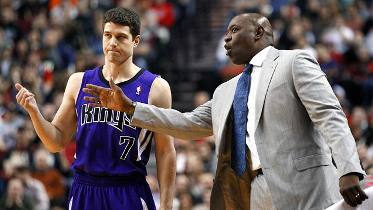 Jimmer Fredette and Keith Smart