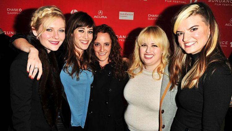 Kirsten Dunst, Lizzy Caplan, Jessica Elbaum, Rebel Wilson, Leslye Headland