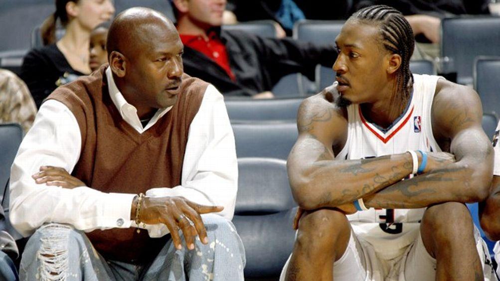 Michael Jordan, Gerald Wallace