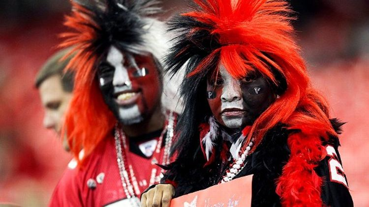 Atlanta Falcons fans