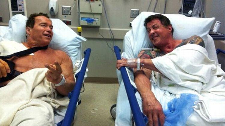 Arnold Schwarzenegger/Sylvester Stallone