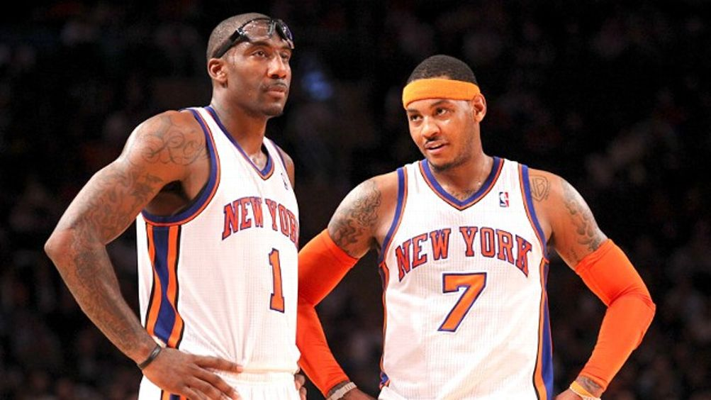 Amare Stoudemire and Carmelo Anthony