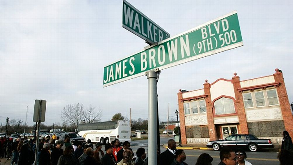 James Brown Sign