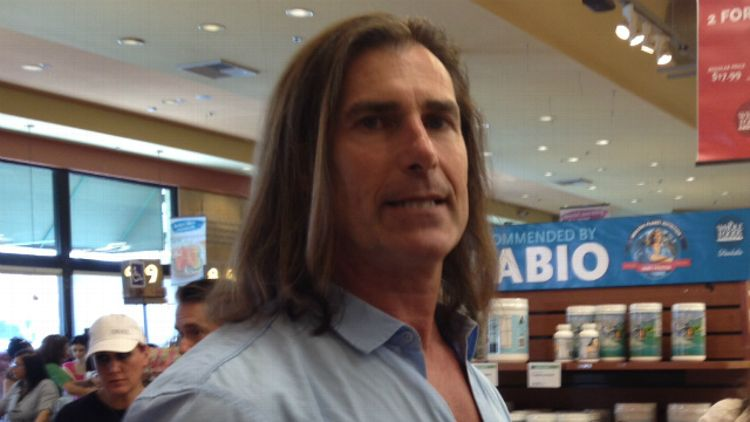 Fabio at Whole Foods