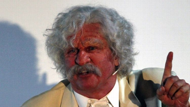 Val Kilmer in 'Citizen Twain'