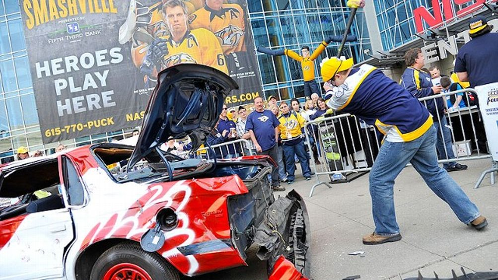 Predators Fan