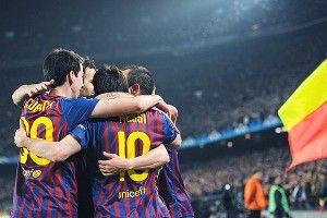 AC Milan players celebrate