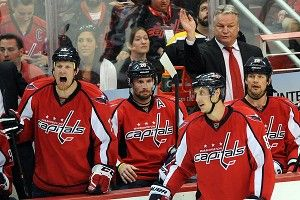 Washington Capitals head coach Dale Hunter