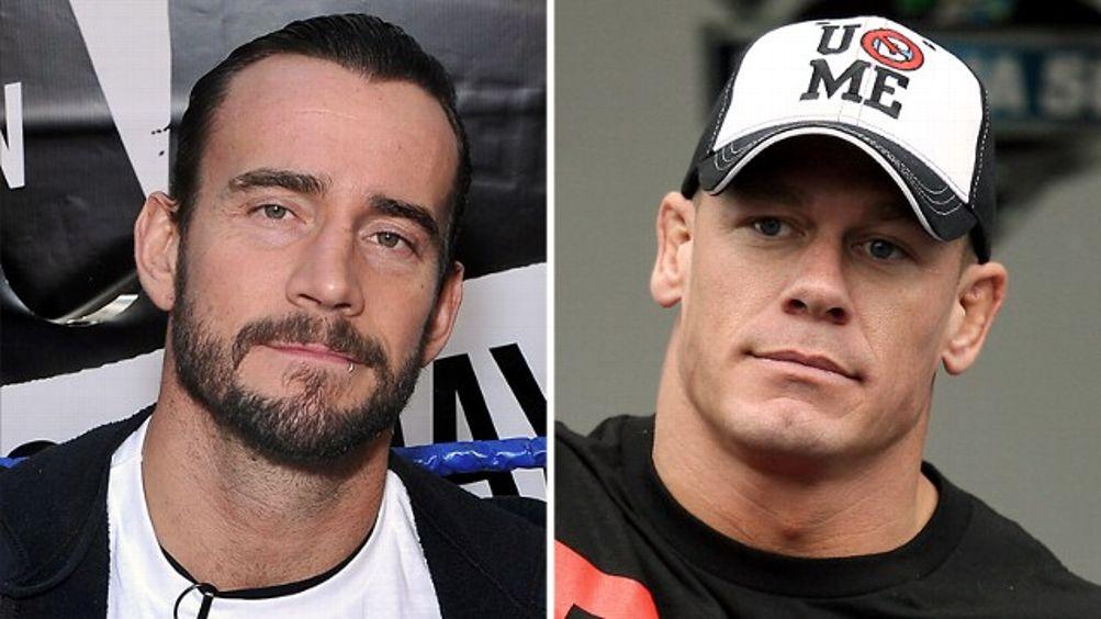 CM Punk, John Cena
