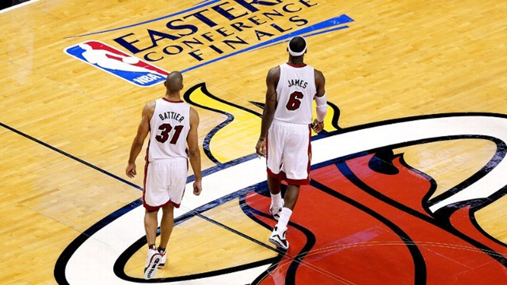 Shane Battier, LeBron James