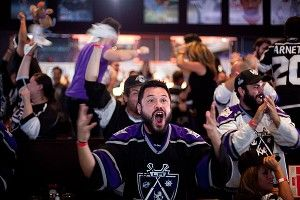 Los Angeles Kings fan