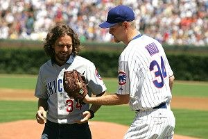 Eddie Vedder and Kerry Wood