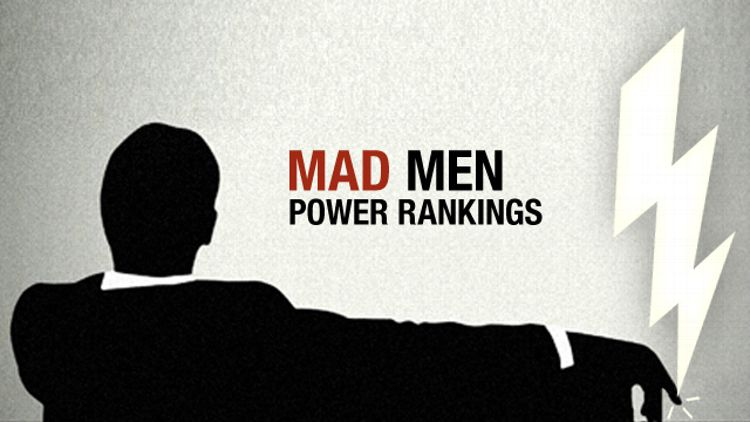 Mad Men Power Rankings