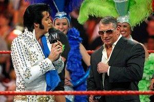 Elvis Presley, Vince McMahon