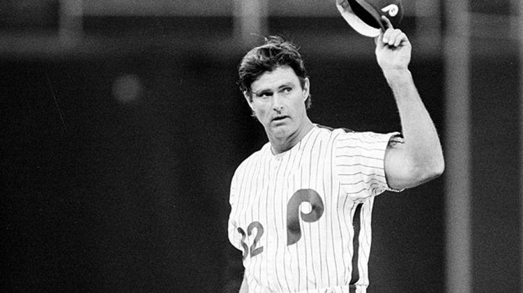 Philadelphia Phillies pitcher Steve Carlton