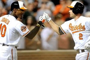 J.J. Hardy; Adam Jones