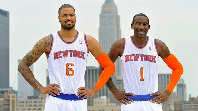 Tyson Chandler and Amar'e Stoudemire