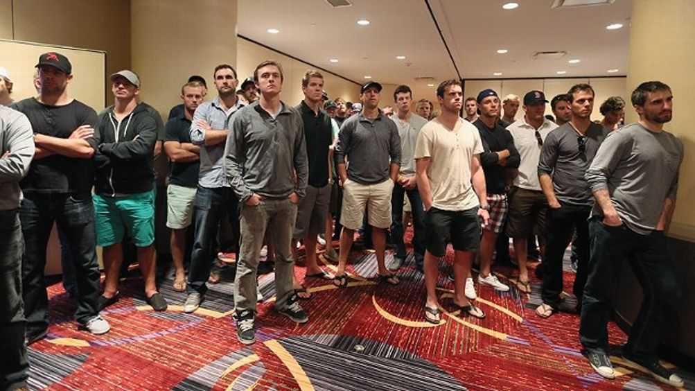 NHLPA meetingsv