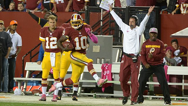 Kyle Shanahan and Robert Griffin III