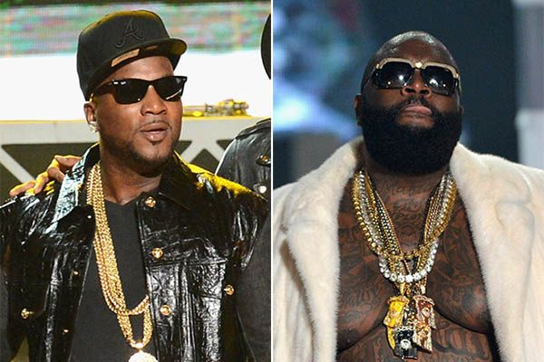 Young Jeezy and Rick Ross