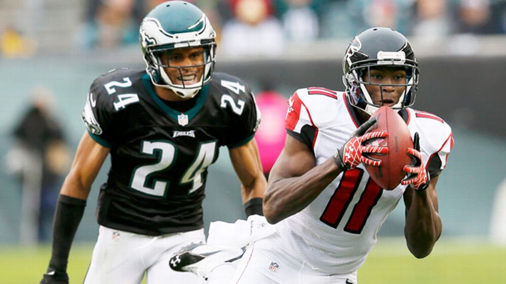 Julio Jones, Nnamdi Asomugha