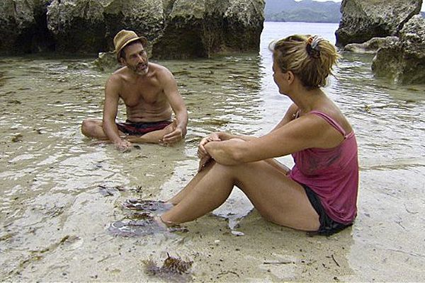 Jonathan Penner and Lisa Whelchel on Survivor