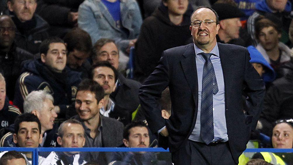 Interim Chelsea manager Rafael Benitez