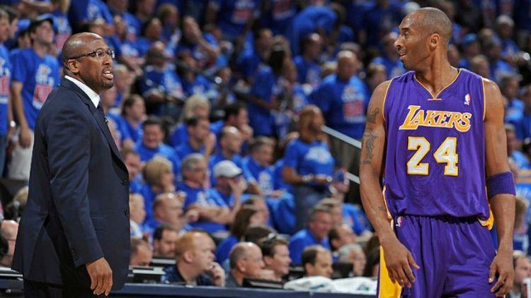 Kobe Bryant, Mike Brown