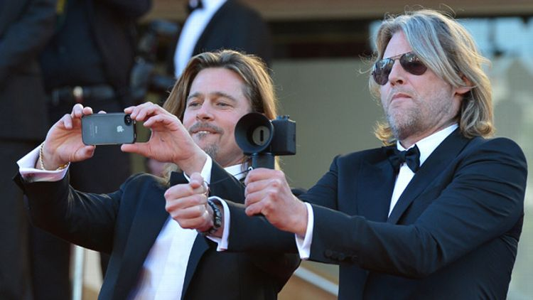 Brad Pitt and Andrew Dominik